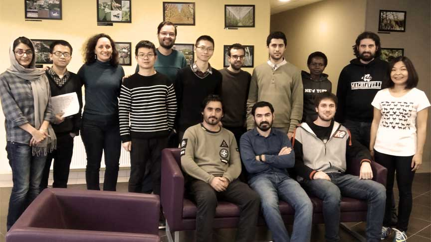 FRENCH FOR UNIVERSITY STUDIES group of univerity students